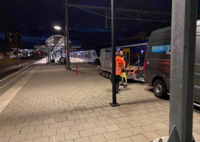 Boeijen Dakbedekkingen station Den Bosch